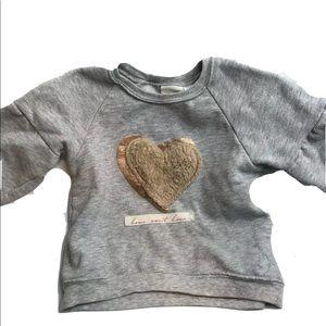 ZARA Baby Toddler Girls Pullover Sweater Size 3-4Y